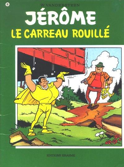 Couverture de Jérôme -60- Le carreau rouillé