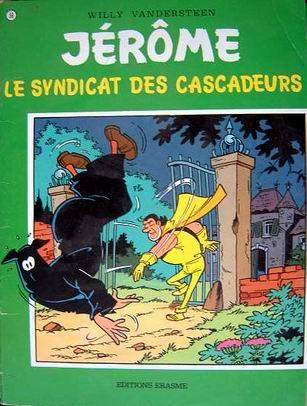 Couverture de Jérôme -56- Le syndicat des cascadeurs