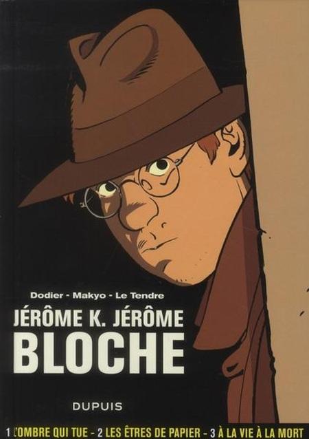 Couverture de Jérôme K. Jérôme Bloche -INT1- L'intégrale - Tome 1