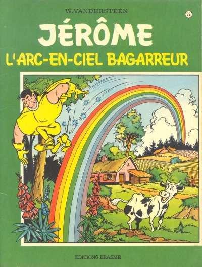 Couverture de Jérôme -32- L'arc-en-ciel bagarreur