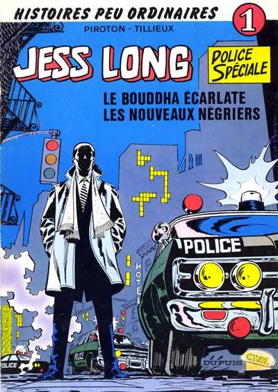 Couverture de Jess Long -1- Le bouddha écarlate - Les nouveaux négriers