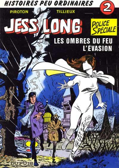 Couverture de Jess Long -2- Les ombres du feu - L'évasion