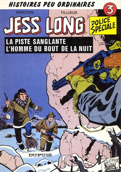 Couverture de Jess Long -3- La piste sanglante - L'homme du bout de la nuit