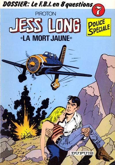 Couverture de Jess Long -7- La mort jaune