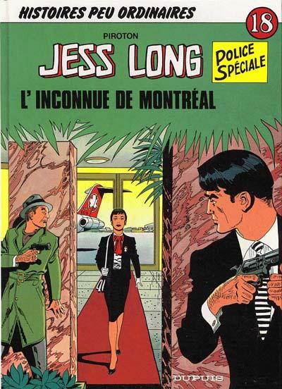 Couverture de Jess Long -18- L'inconnue de Montréal
