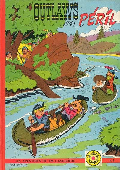 Couverture de Jim L'astucieux (Les aventures de) - Jim Aydumien -2- Outlaws en péril