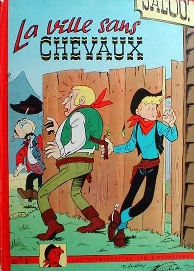 Couverture de Jim L'astucieux (Les aventures de) - Jim Aydumien -1- La ville sans chevaux