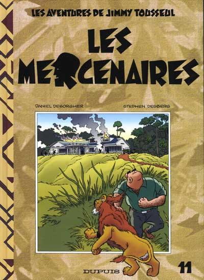 Couverture de Jimmy Tousseul -11- Les mercenaires