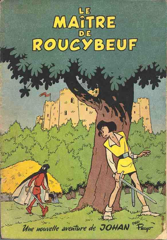 Couverture de Johan et Pirlouit -2- Le maître de Roucybeuf