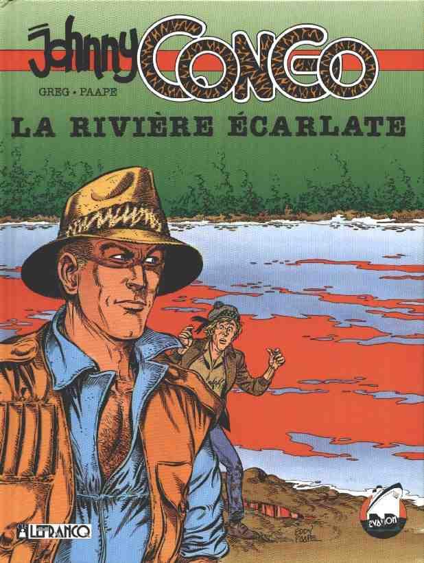 Couverture de Johnny Congo -1- La rivière écarlate