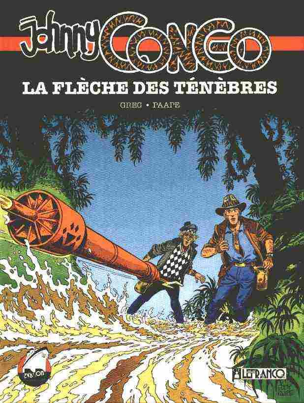 Couverture de Johnny Congo -2- La flèche des ténèbres