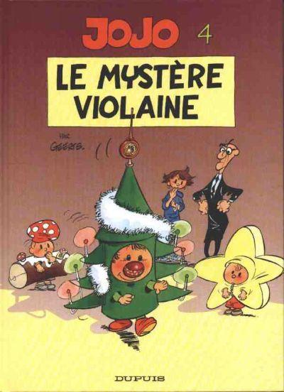 Couverture de Jojo (Geerts) -4- Le mystère Violaine