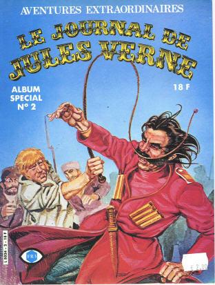 Couverture de Jules Verne (Le Journal de) - Aventures extraordinaires -Rec2- Album spécial n°2
