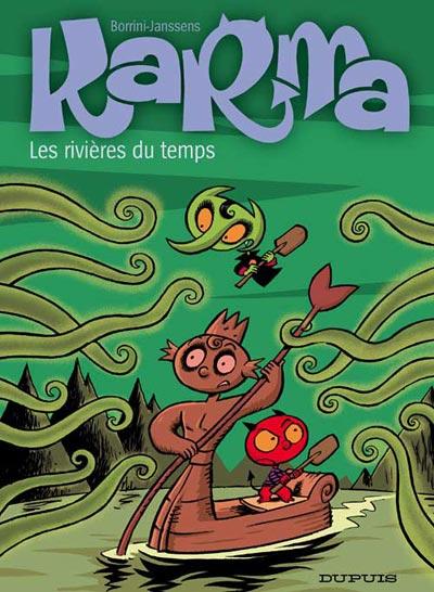 Couverture de Karma -2- Les rivières du temps