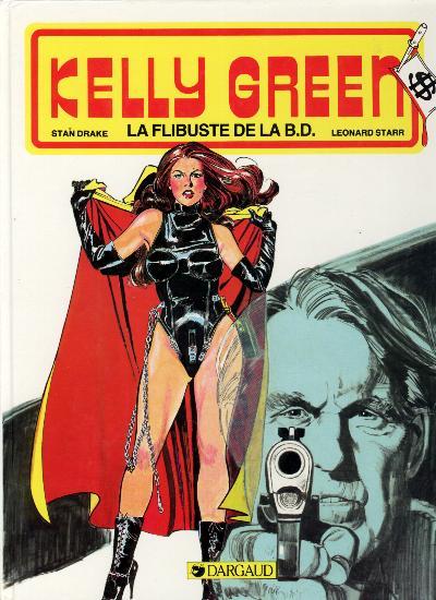 Couverture de Kelly Green -5- La flibuste de la B.D.