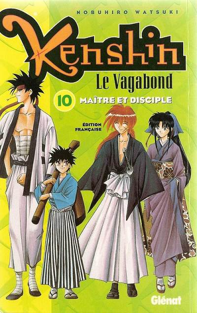 Couverture de Kenshin le Vagabond -10- Maître et disciple