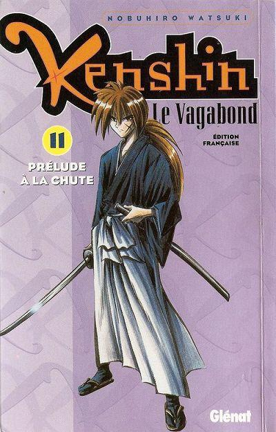 Couverture de Kenshin le Vagabond -11- Prélude à la chute