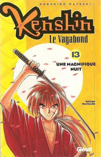 Couverture de Kenshin le Vagabond -13- Une magnifique nuit