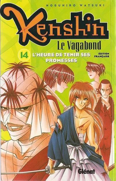 Couverture de Kenshin le Vagabond -14- L'Heure de tenir ses promesses