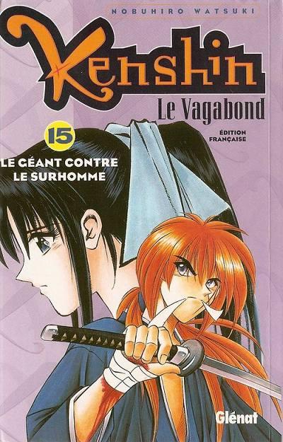 Couverture de Kenshin le Vagabond -15- Le Géant contre le surhomme