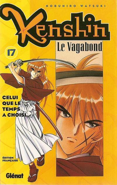Couverture de Kenshin le Vagabond -17- Celui que le temps a choisi