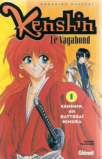 Couverture de Kenshin le Vagabond -1- Kenshin, dit Battosaï Himura