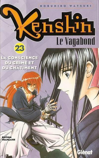 Couverture de Kenshin le Vagabond -23- La Conscience du crime et du châtiment