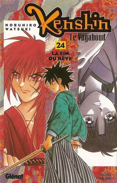 Couverture de Kenshin le Vagabond -24- La Fin du rêve