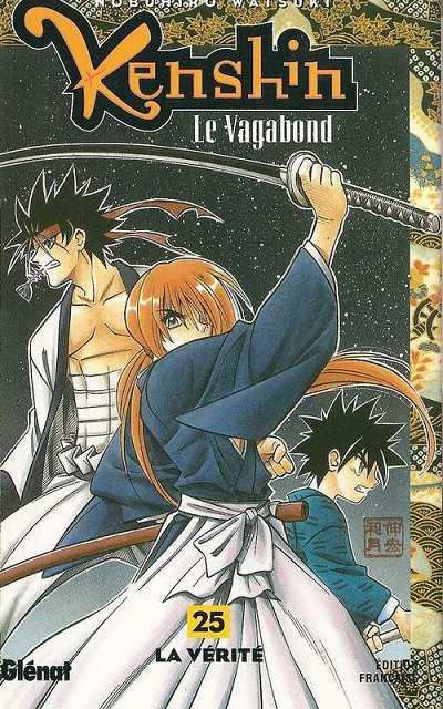 Couverture de Kenshin le Vagabond -25- La Vérité
