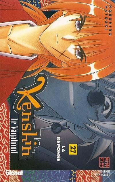Couverture de Kenshin le Vagabond -27- La réponse
