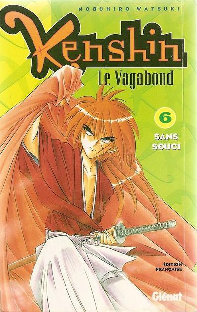 Couverture de Kenshin le Vagabond -6- Sans souci
