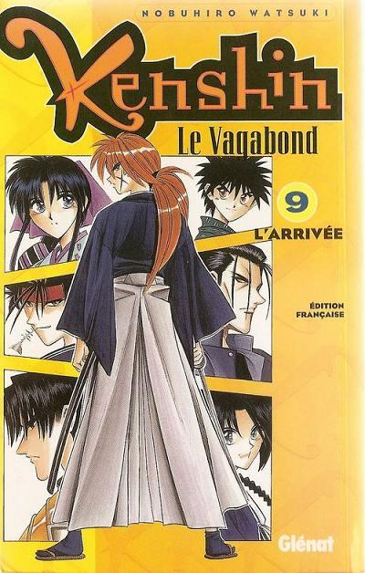 Couverture de Kenshin le Vagabond -9- L'Arrivée