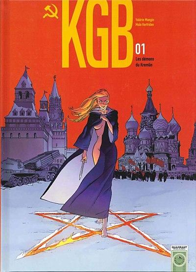 Couverture de KGB -1- Les démons du Kremlin