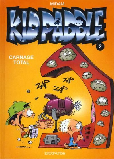 Couverture de Kid Paddle -2- Carnage Total