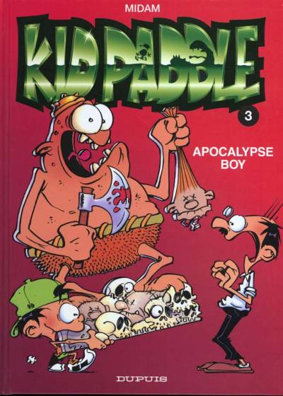 Couverture de Kid Paddle -3- Apocalypse Boy