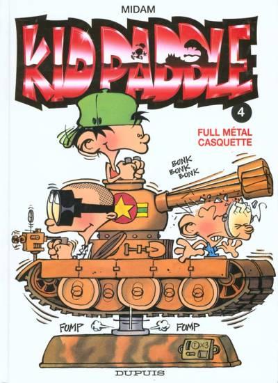 Couverture de Kid Paddle -4- Full métal casquette