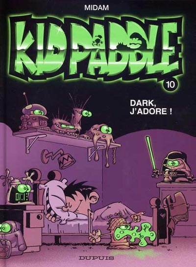 Couverture de Kid Paddle -10- Dark, j'adore !