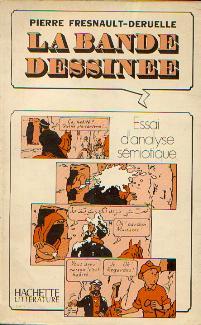 Couverture de (DOC) Études et essais divers - La bande dessinée : Essai d'analyse sémiotique