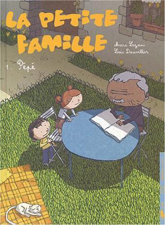 Couverture de La petite famille -1- Pépé