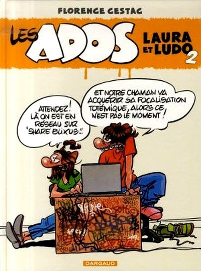Couverture de Les ados -2- Laura et Ludo 2