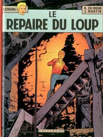Couverture de Lefranc -4- Le repaire du loup