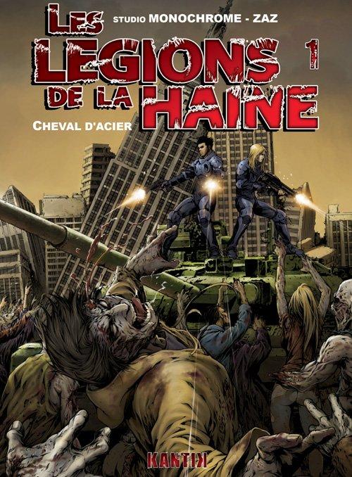 Couverture de Les légions de la haine -1- Cheval d'acier