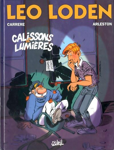 Couverture de Léo Loden -14- Calissons et lumières