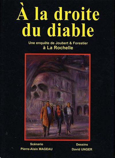 Couverture de Une enquête de Joubert et Forestier -4- À la droite du diable