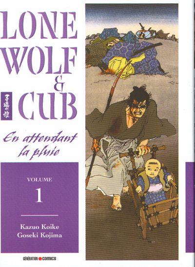 Couverture de Lone Wolf & Cub -1- En attendant la pluie