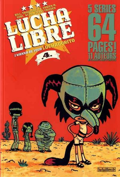 Couverture de Lucha Libre -4- I wanna be your Luchadorito