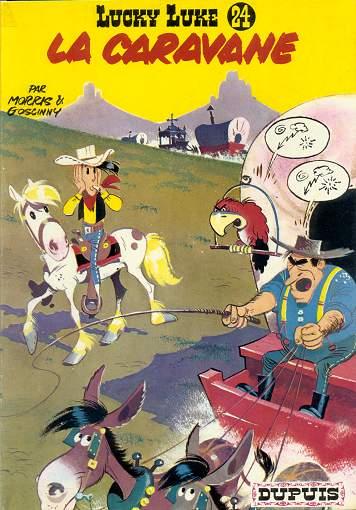 Couverture de Lucky Luke -24- La caravane