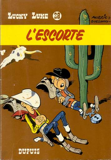 Couverture de Lucky Luke -28- L'escorte