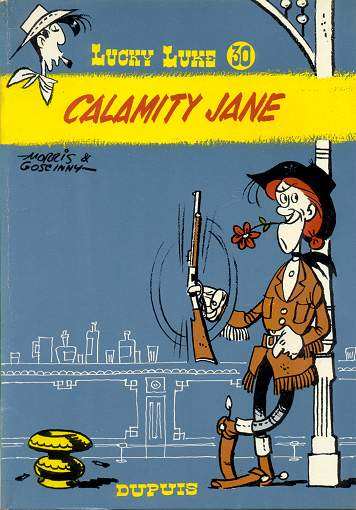 Couverture de Lucky Luke -30- Calamity Jane