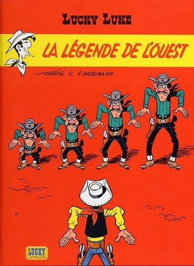 Couverture de Lucky Luke -70- La légende de l'Ouest
